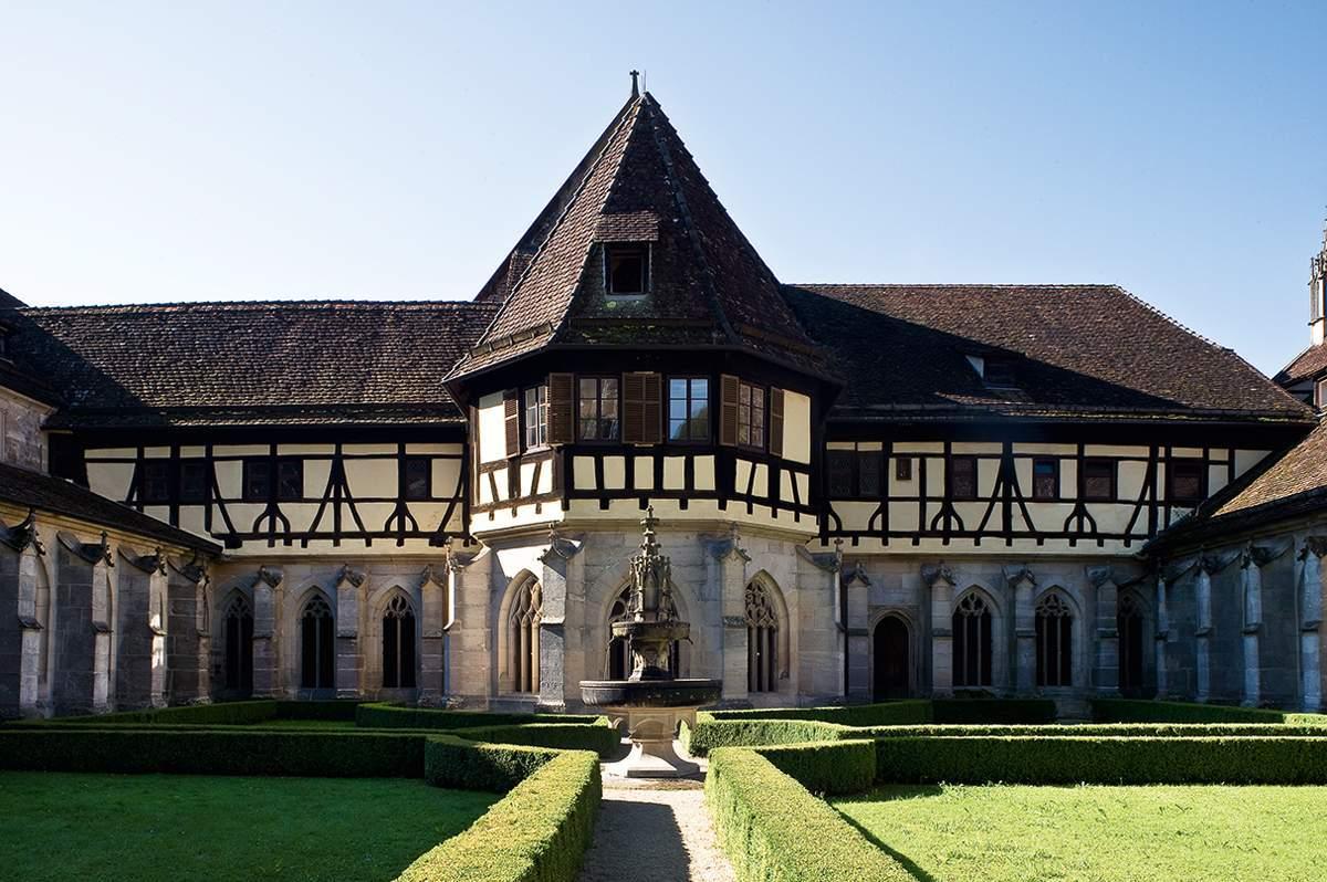 View of Bebenhausen Monastery