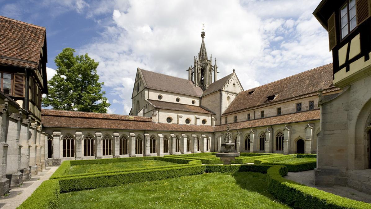 Kreuzgang von Kloster und Schloss Bebenhausen; Foto: Staatliche Schlösser und Gärten Baden-Württemberg, Christoph Hermann