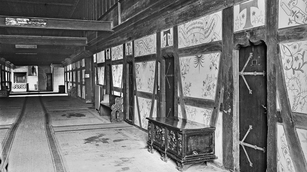 Dormitory of Bebenhausen Monastery and Palace. Image: Landesmedienzentrum Baden-Württemberg, Fotoarchiv Hein