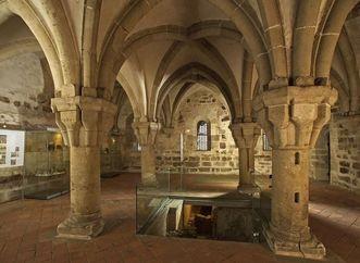 Parlatory in Bebenhausen Monastery. Image: Staatliche Schlösser und Gärten Baden-Württemberg, Arnim Weischer
