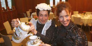 Kaffee und Kuchen auf Schloss Bebenhausen