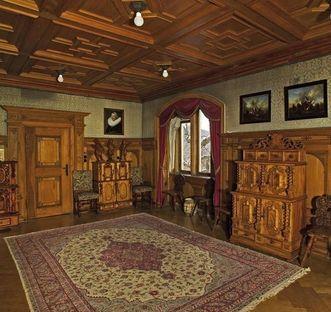Der Salon der Königin im Schloss Bebenhausen