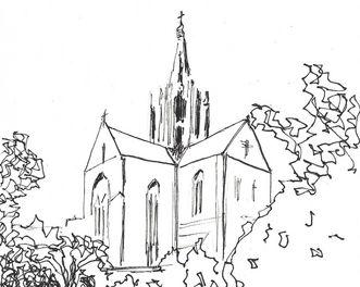 Kloster Bebenhausen, Zeichnung