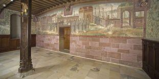 Mural in the winter refectory of Bebenhausen Monastery