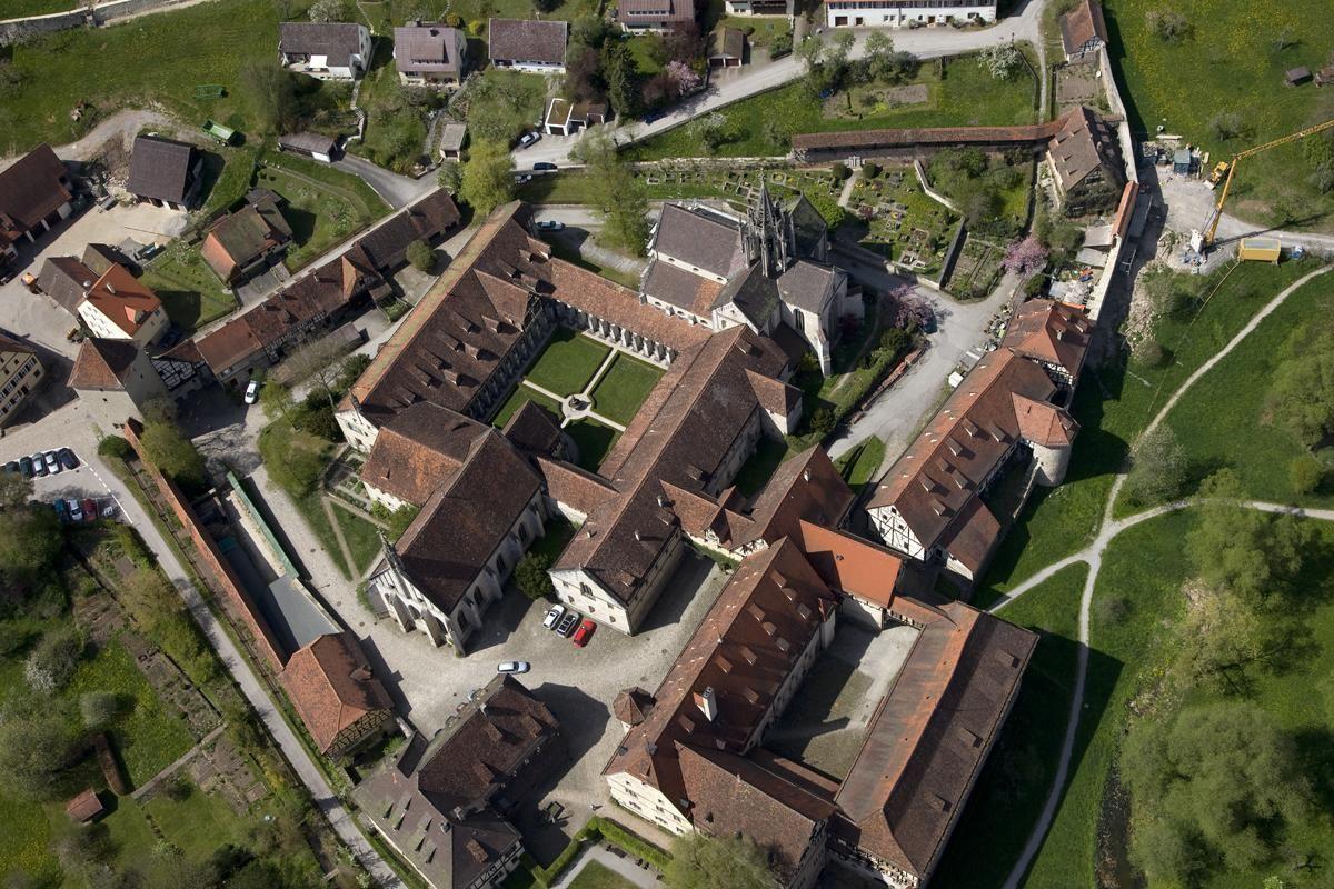 Bebenhausen Monastery and Palace. Image: Staatliche Schlösser und Gärten Baden-Württemberg, Achim Mende