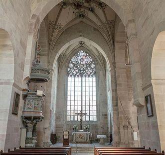 Die Klosterkirche in Bebenhausen; Foto: Staatliche Schlösser und Gärten Baden-Württemberg, Günther Bayerl