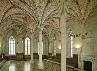 Summer refectory in Bebenhausen Monastery. Image: Staatliche Schlösser und Gärten Baden-Württemberg, Arnim Weischer