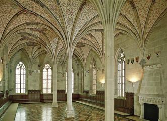 Sommerrefektorium im Kloster Bebenhausen