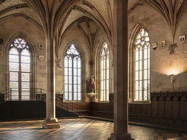 Kloster und Schloss Bebenhausen, Speiseraum im Kloster