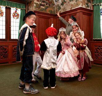 Kinderführung in Kloster und Schloss Bebenhausen; Foto: Staatliche Schlösser und Gärten Baden-Württemberg, Angela Hammer