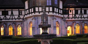 Kloster Bebenhausen, stimmungsvoll beleuchtet