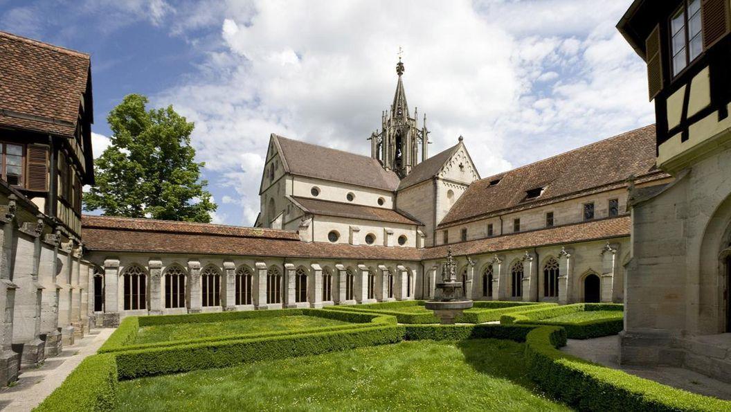 Cloister of Bebenhausen Monastery and Palace. Image: Staatliche Schlösser und Gärten Baden-Württemberg, Christoph Hermann