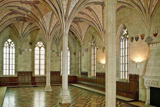 Monastère de Bebenhausen, Réfectoire d'été; l'image: Staatliche Schlösser und Gärten Baden-Württemberg, Arnim Weischer
