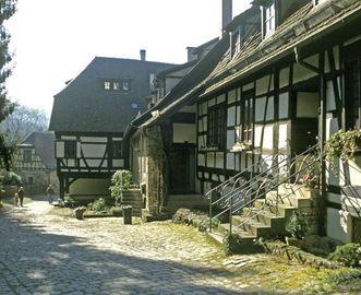 Die frühere Klostermühle; Foto: Staatliche Schlösser und Gärten Baden-Württemberg, Arnim Weischer