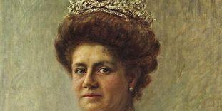 Porträt der Königin Charlotte von Württemberg, um 1910