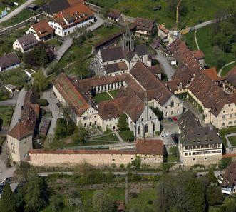 Luftaufnahme der Klosteranlage Bebenhausen; Foto: Staatliche Schlösser und Gärten Baden-Württemberg, Achim Mende