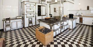 Image: Kitchen in Bebenhausen Palace