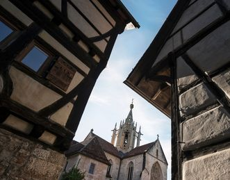 Gothic crossing tower, Bebenhausen Monastery. Image: Staatliche Schlösser und Gärten Baden-Württemberg, Günther Bayerl